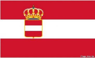 Austria - Hungary War Ensign  (1786 - 1915)